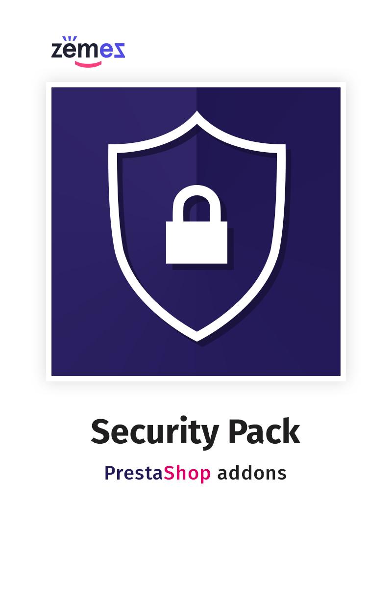 "Tema Modulo PrestaShop #71223 ""Security Pack"""