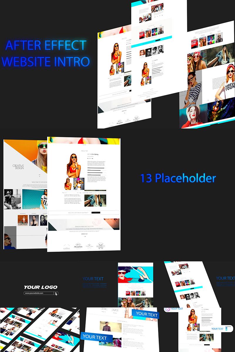 Website Intro After Effects com Introdução №71263
