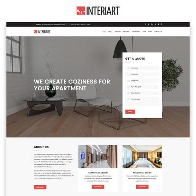 Template per siti di casa e famiglia templatemonster for Siti design casa