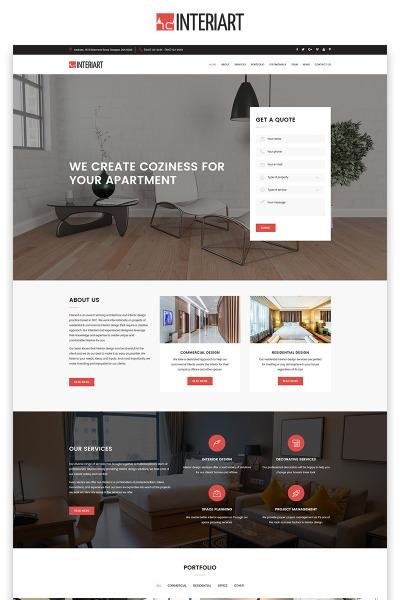 Furniture Responsive Nyítóoldal Sablon
