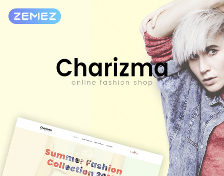 Charizma - Fashion Store Elementor WooCommerce Theme