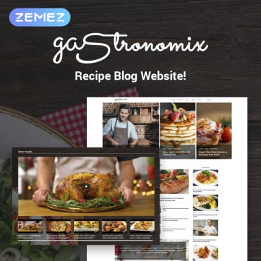 Preview image of Gastronomix - Restaurant  Elementor