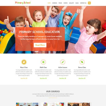 Preview image of Primary School - Education Primary School for Children