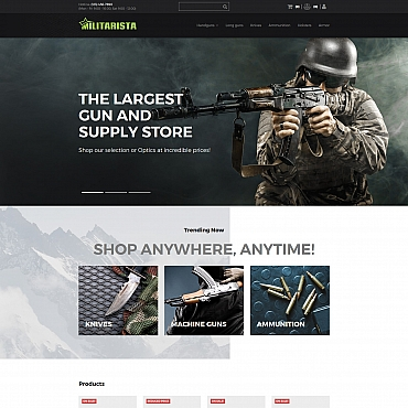 Preview image of Militarista - Weapons Shop