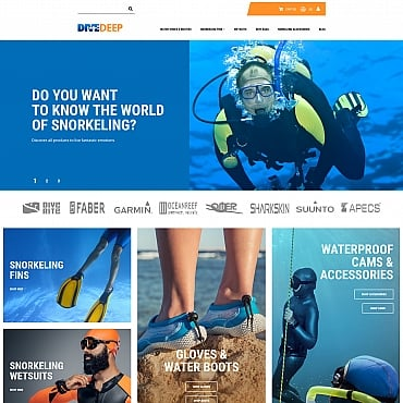 Preview image of DiveDeep - Snorkeling Gear Store
