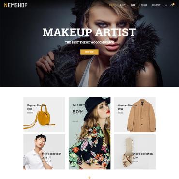 Купить  пофессиональные WooCommerce шаблоны. Купить шаблон #71485 и создать сайт.