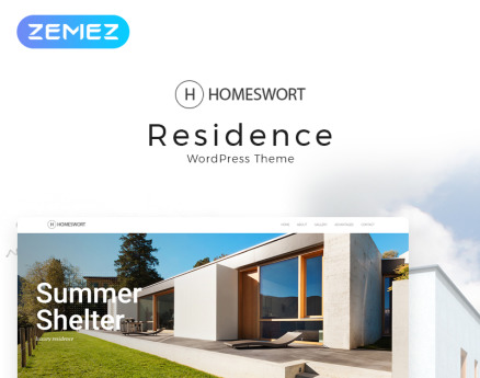 Homeswort - Luxury Real Estate Elementor WordPress Theme