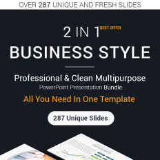 Powerpoint templates teenager themes template monster business style 2 in 1 powerpoint template technology toneelgroepblik Images