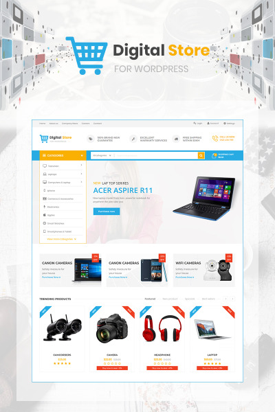 Digital - specially designed for Digital and Technology stores