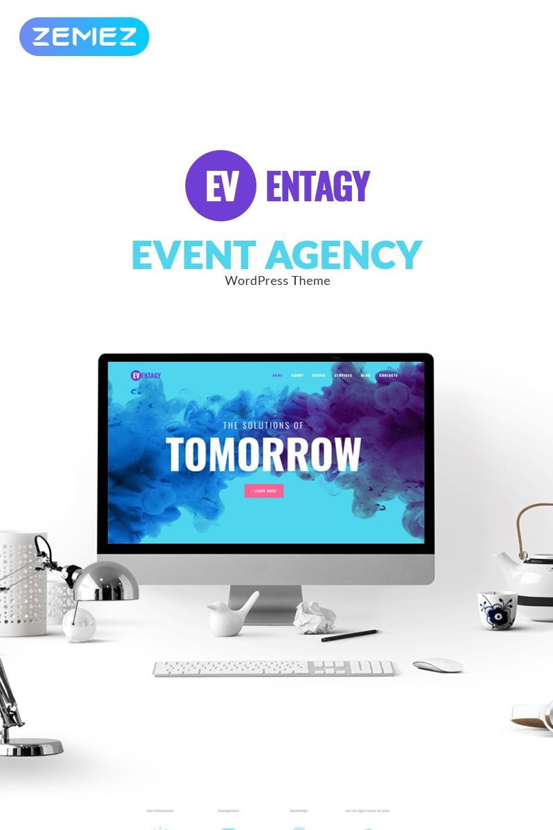 """Eventagy - Event Agency Elementor"" thème WordPress adaptatif #71422"