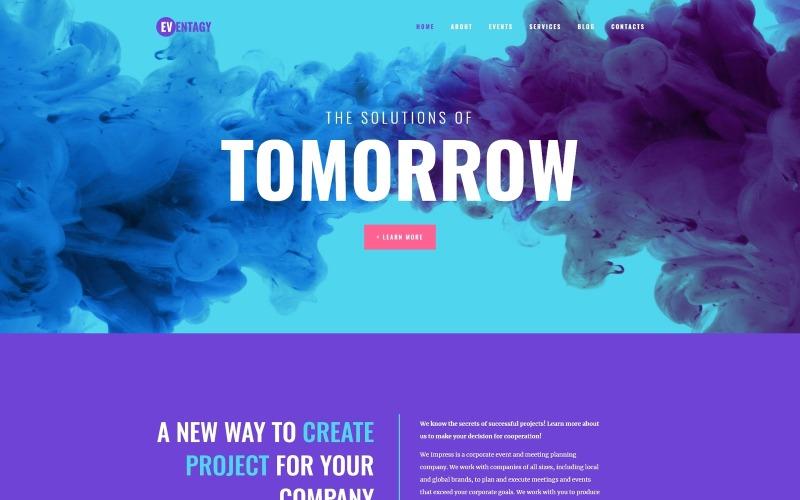 Eventagy - Event Agency WordPress Elementor Theme WordPress Theme