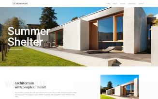 Homeswort - Luxury Real Estate WordPress Elementor Theme
