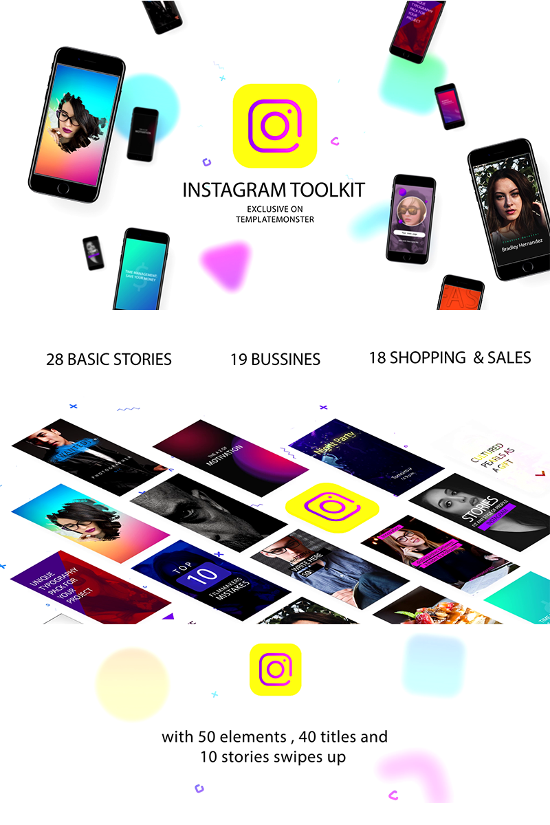 """""""Instagram toolkit"""" - Заставка After Effects №71479"""