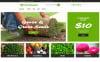 "Responzivní MotoCMS Ecommerce šablona ""Evolveris - Gardening & Agriculture Store"" New Screenshots BIG"