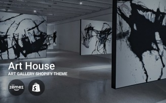 Art House - Art Gallery Shopify Theme