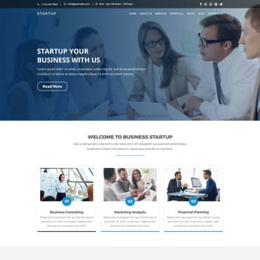 Preview image of STARTUP - Business, Consulting & Corporate