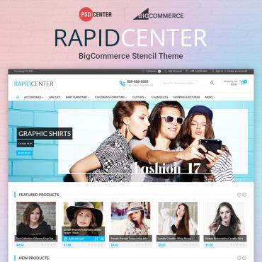 Купить  пофессиональные BigCommerce Themes. Купить шаблон #71560 и создать сайт.