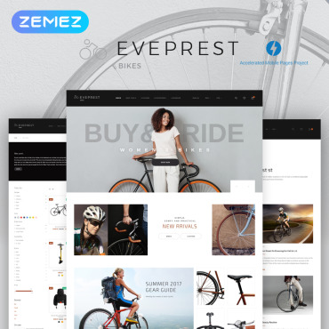 Preview image of Eveprest Bike 1.7 - Bike Store