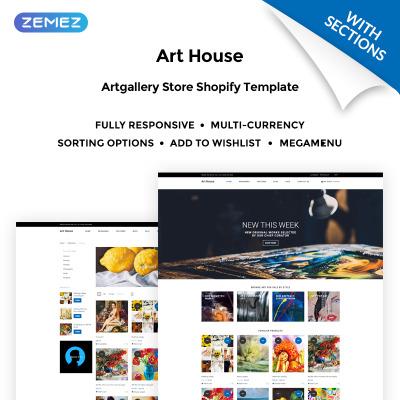 art gallery templates templatemonster