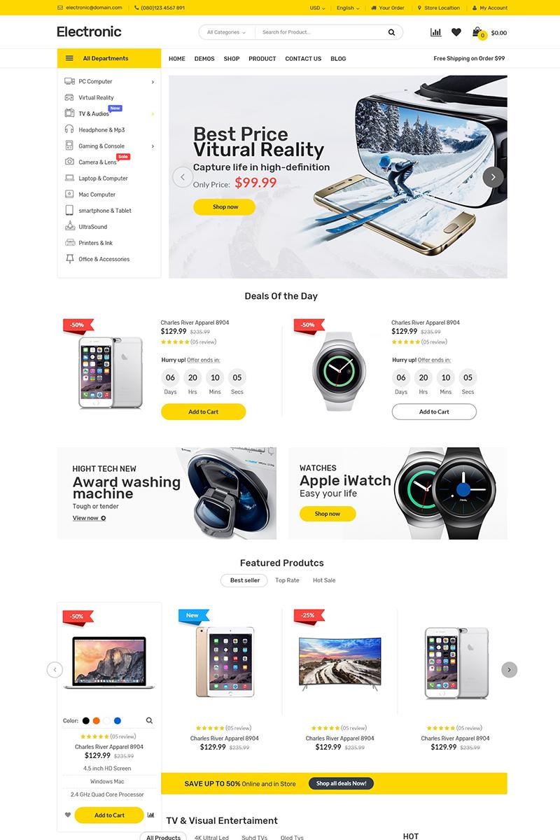 Electronics WooCommerce Theme - screenshot