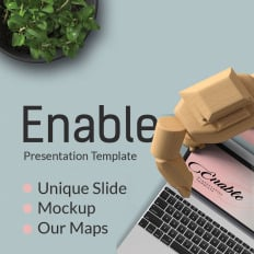 enable creative powerpoint template official