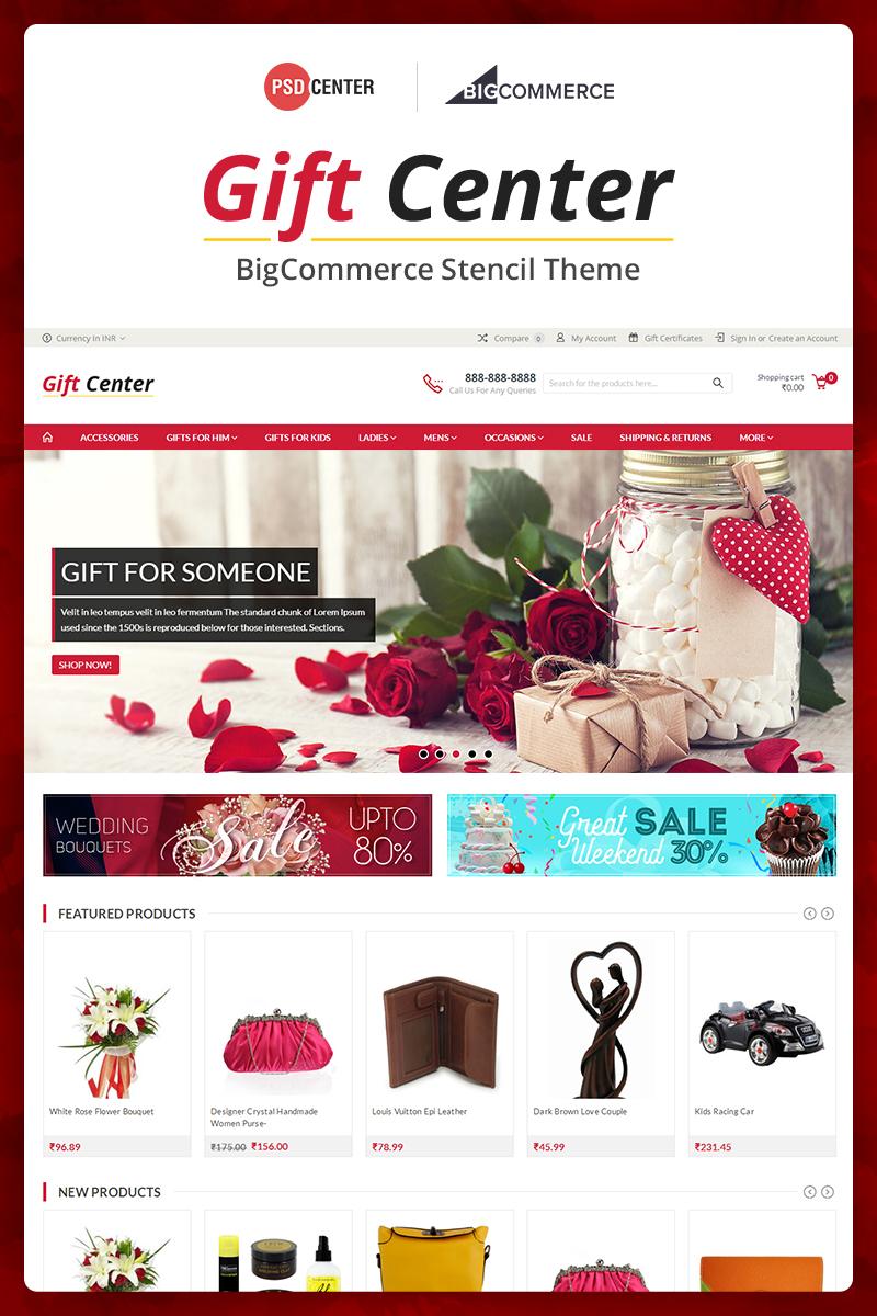 """GiftCenter Multipurpose"" Responsive BigCommerce Theme №71562"