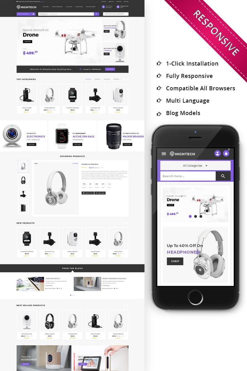 HiTech Electronic - Responsive PrestaShop Theme