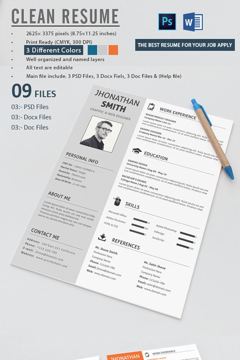 Lebenslauf Vorlage 71573 Für Grafiken