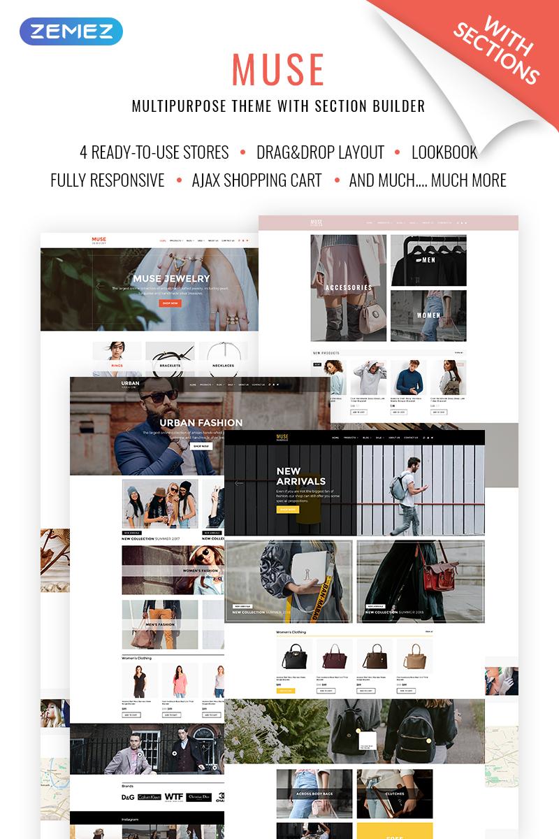 Muse Jewellery Fashion Responsive Shopify Theme - screenshot