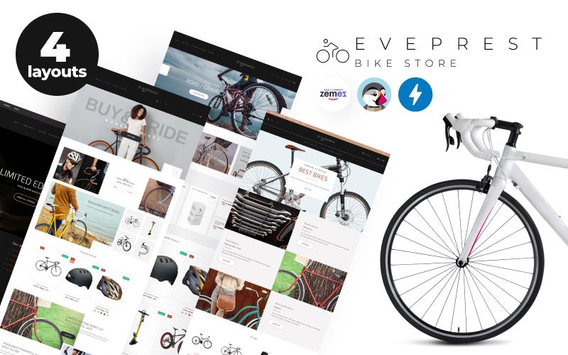 Responsywny szablon PrestaShop Eveprest Bike 1.7 - Bike Store #71568
