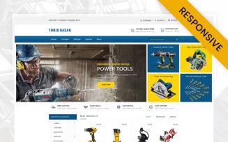 Tools Bazar - HandTools Store OpenCart Template