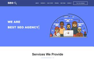 SEOBizz - SEO & Digital Marketing Agency HTML5 Template