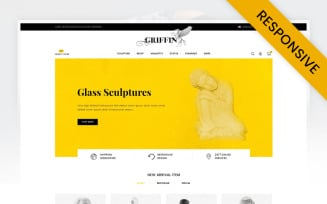 Griffin - Arts Store OpenCart Template