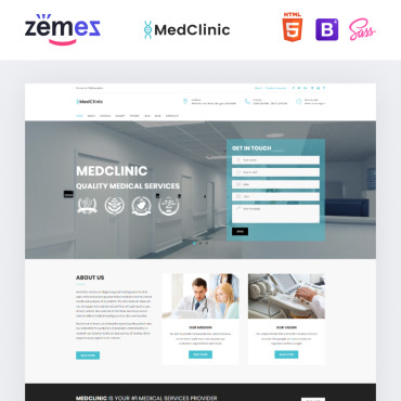 Preview image of MedClinic - Private Medical Clinic HTML5