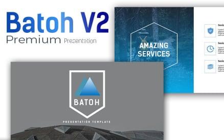 Batoh V2 Premium PowerPoint template PowerPoint Template