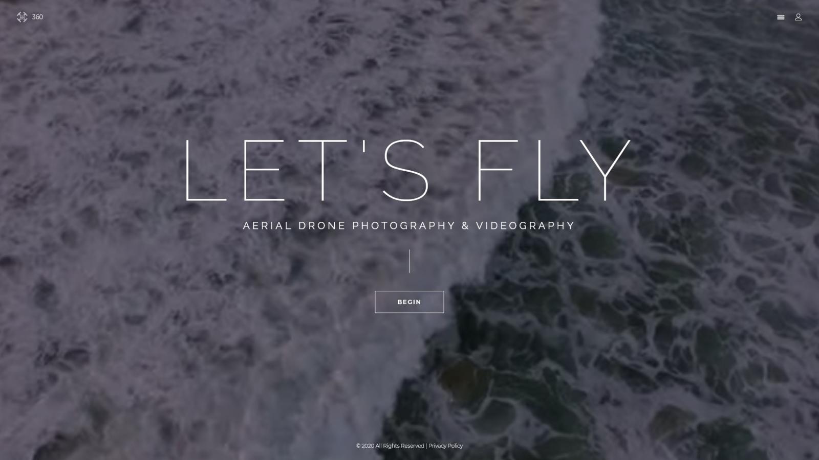 """Let's Fly - Aerial Photography & Videography"" - адаптивний Joomla шаблон №71634"