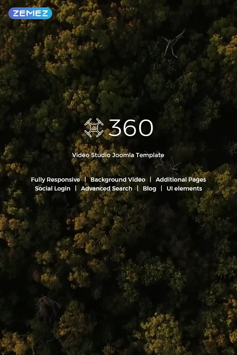 """Let's Fly - Aerial Photography & Videography"" thème Joomla adaptatif #71634"