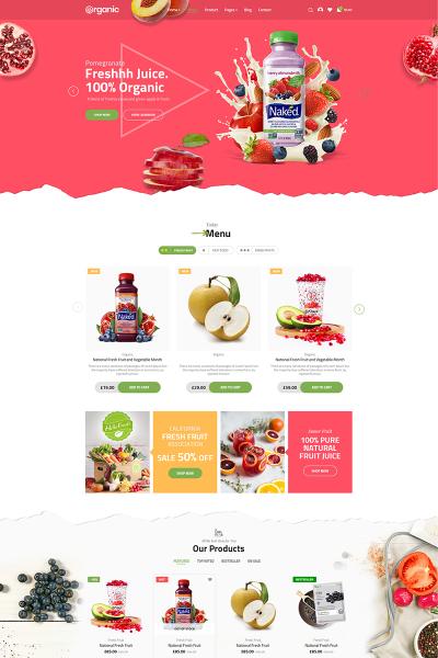 Organic WooCommerce Theme #71673