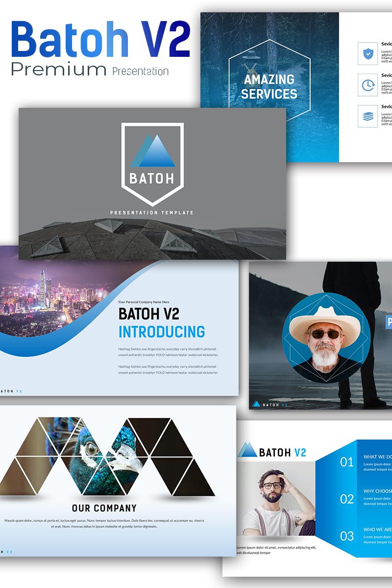 Responsywny szablon PowerPoint Batoh V2 Premium #71639