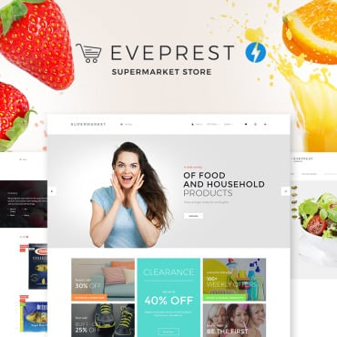 Preview image of Eveprest Supermarket 1.7 - Supermarket Store
