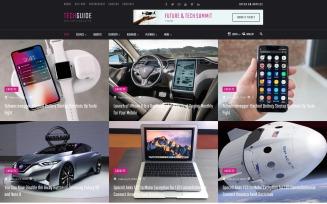 Techguide - Tech Blog WordPress Elementor Theme