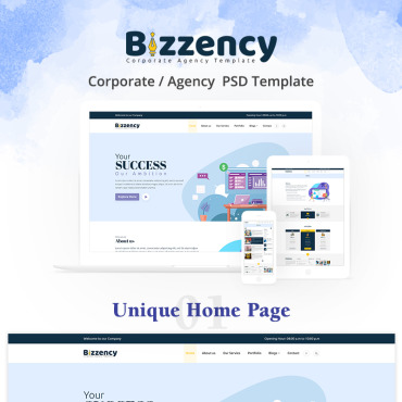 Preview image of Bizzency - Corporate/Agency