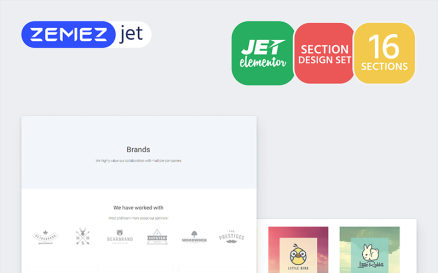 Labelex - Brands Jet Sections Elementor Template
