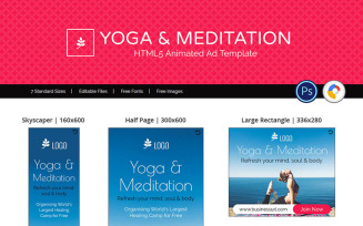 Professional Services | Yoga & Meditation Ads