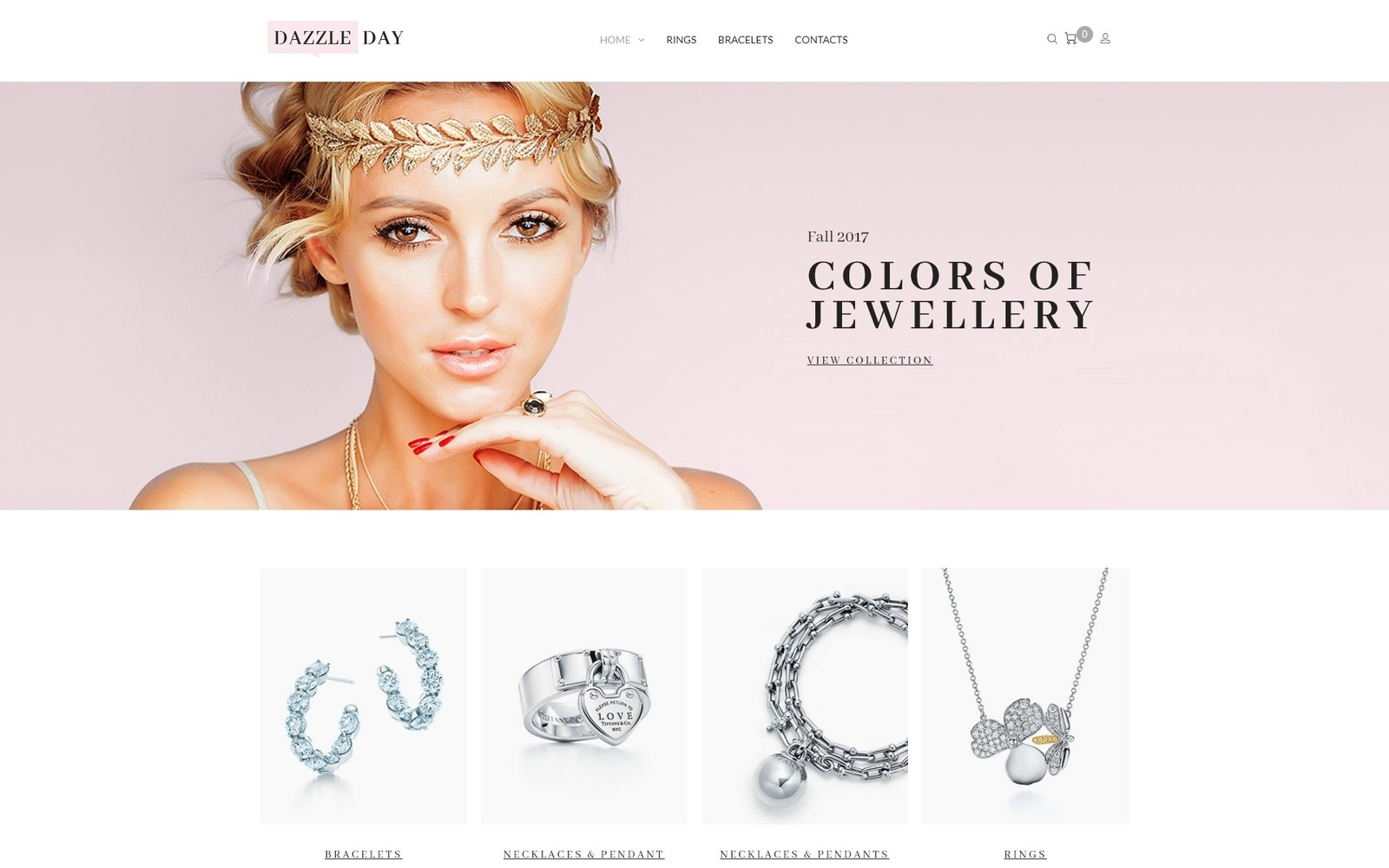 DazzleDay - Accessories Store WooCommerce Theme - screenshot