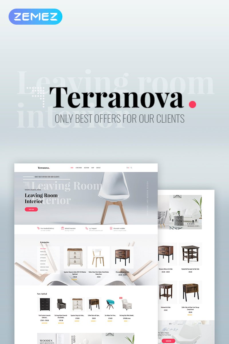 Terranova-Interior WooCommerce Theme