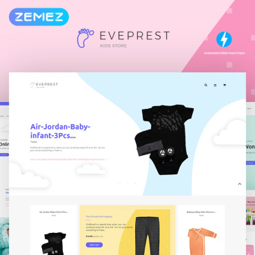 Preview image of Eveprest Kids 1.7 - Kids Store