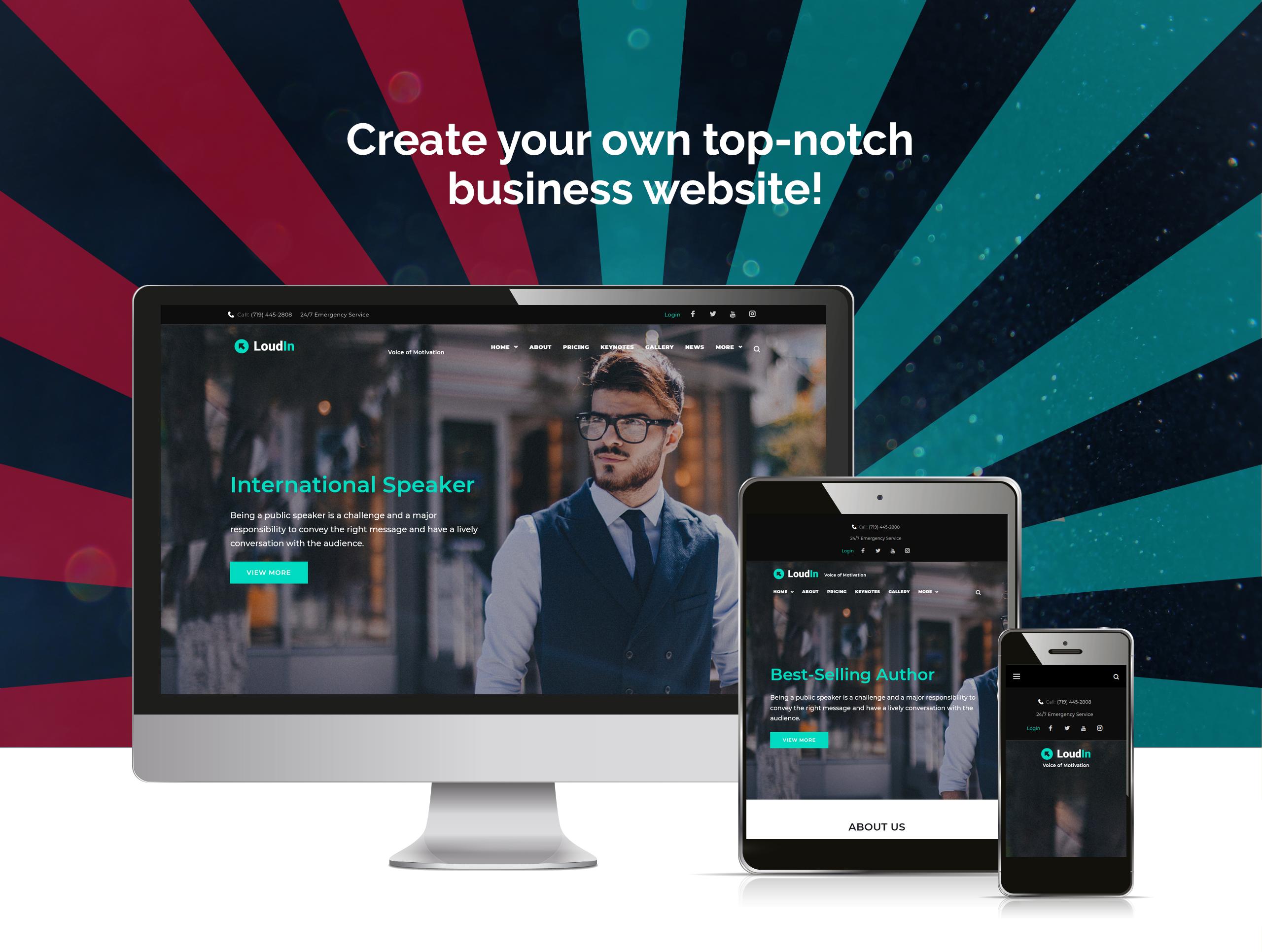 Website Design Template 71820