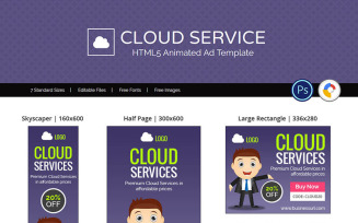 Professional Services | Cloud Service / Hosting Banner Ad