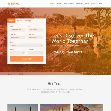 Preview image of TravelBizz - Travel Agency